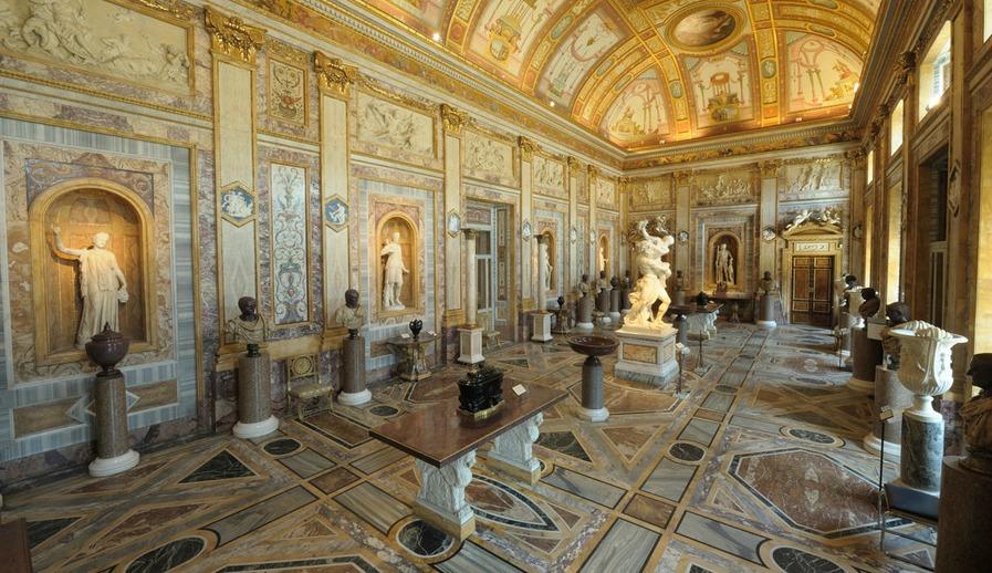 Экспонаты галереи Боргезе