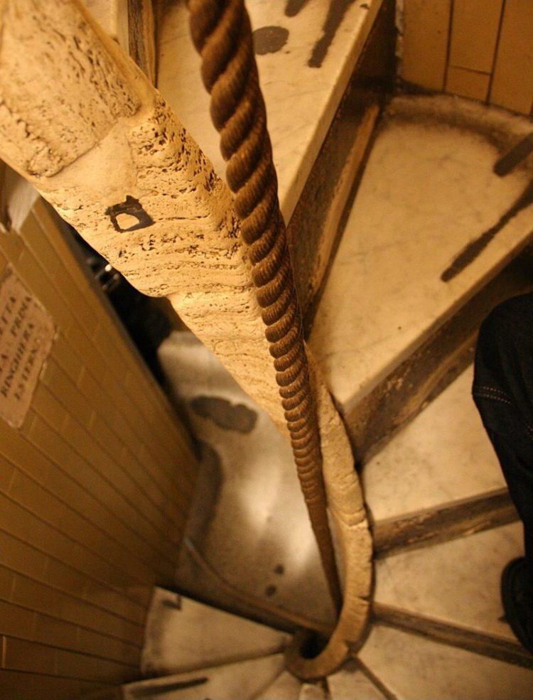 Лестница на купол собора Святого Петра