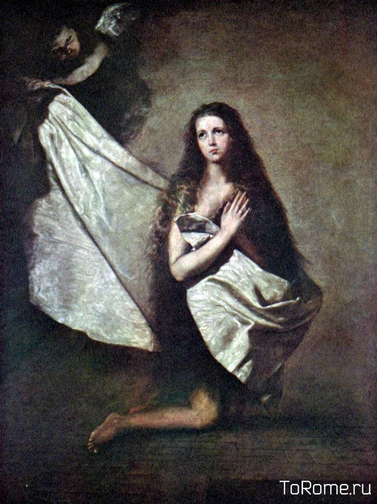 Святая Агнесса на картине испанский художника Хусепе Рибера