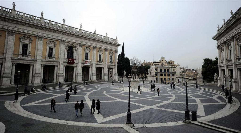 Площадь Капитолия в Риме