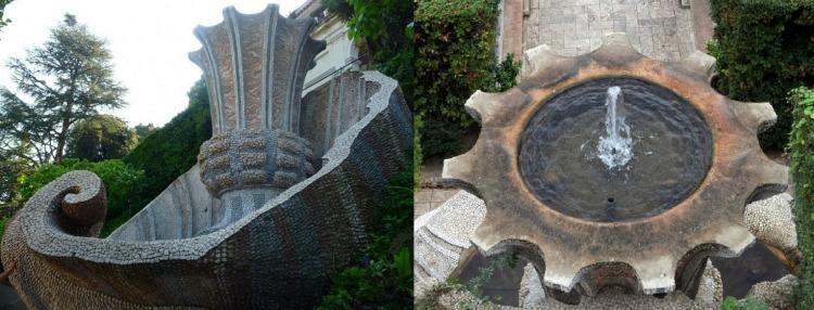 Фонтан дель Биккьероне в вилле д'Эсте