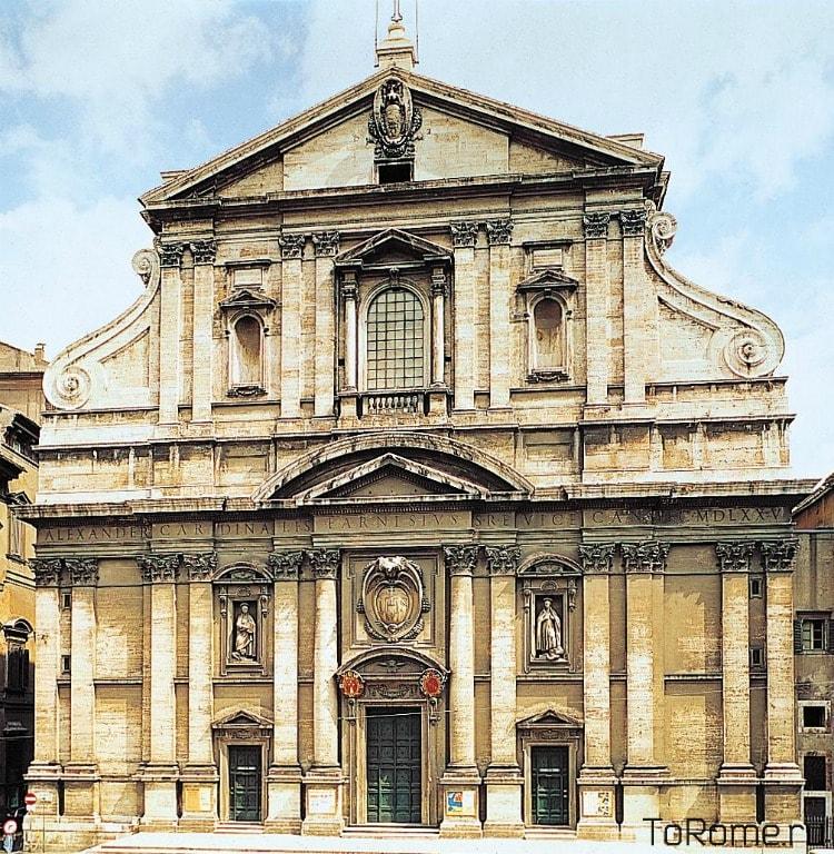 Церковь Иль-Джезу в Риме
