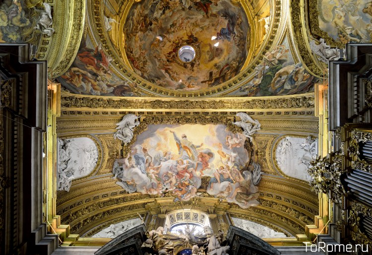 Капелла Игнатия в церкви Джезу в Риме