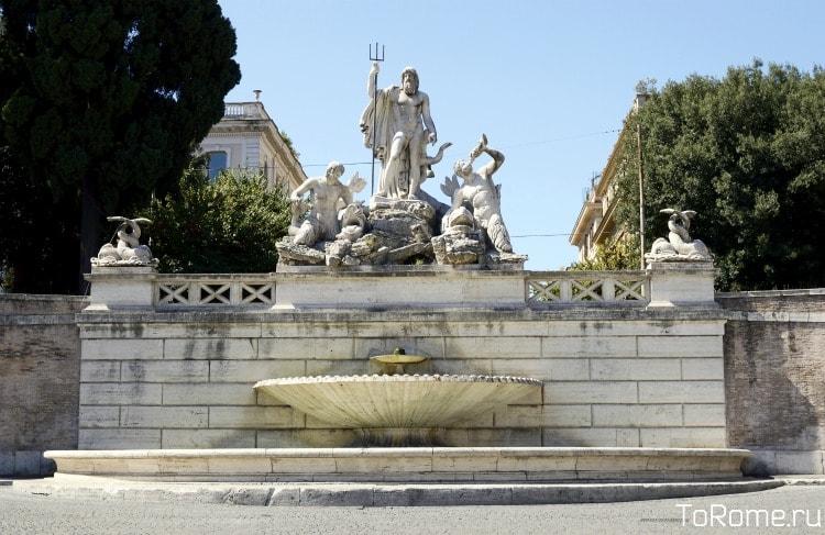 Фонтан «Нептун» в Риме