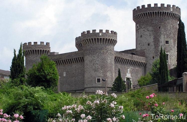 Крепость Пия в Тиволи