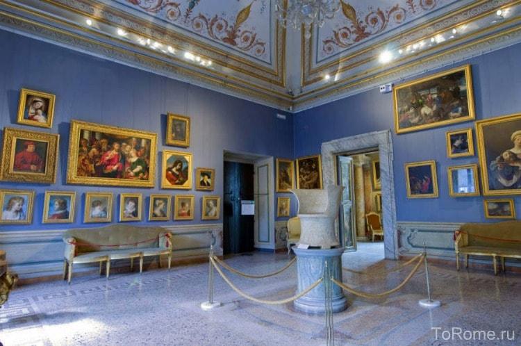 Картинные галереи палаццо Барберини