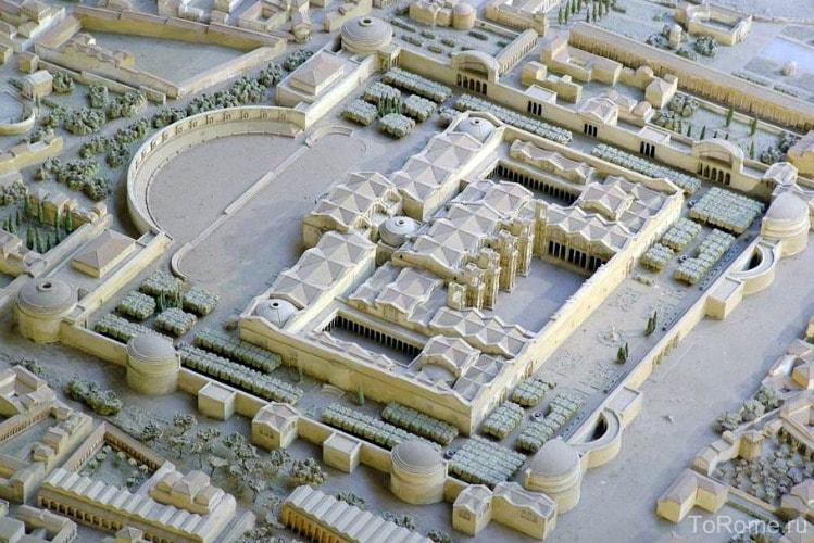 Конструкция терм Диоклетиана в Риме