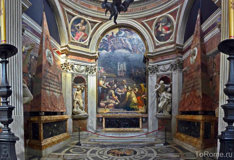 Капелла Киджи в церкви дель Пополо