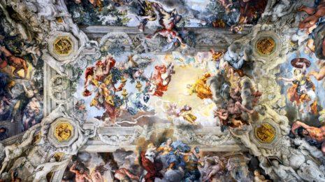 Дворец Палаццо Барберини в Риме