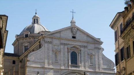 Церковь Иль Джезу в Риме