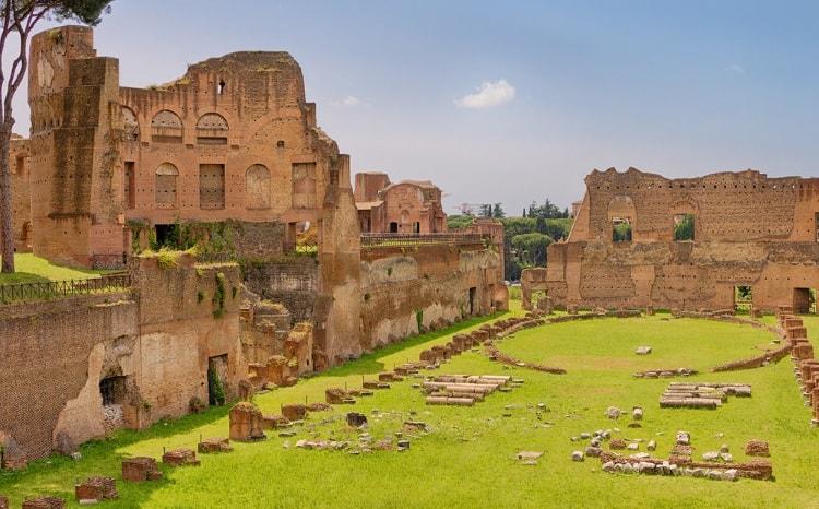 Археологическая работа на Палатине