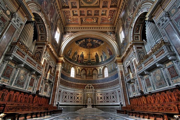 базилика сан-джованни ин латерано интерьер