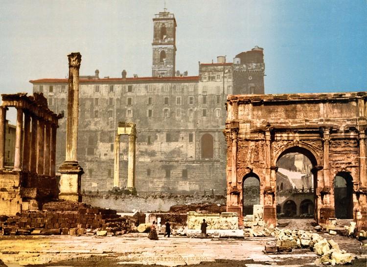 Триумфальная арка Септимия история