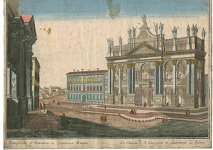 новый фасад латеранской базилики