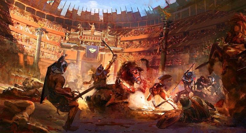 Бой гладиаторов