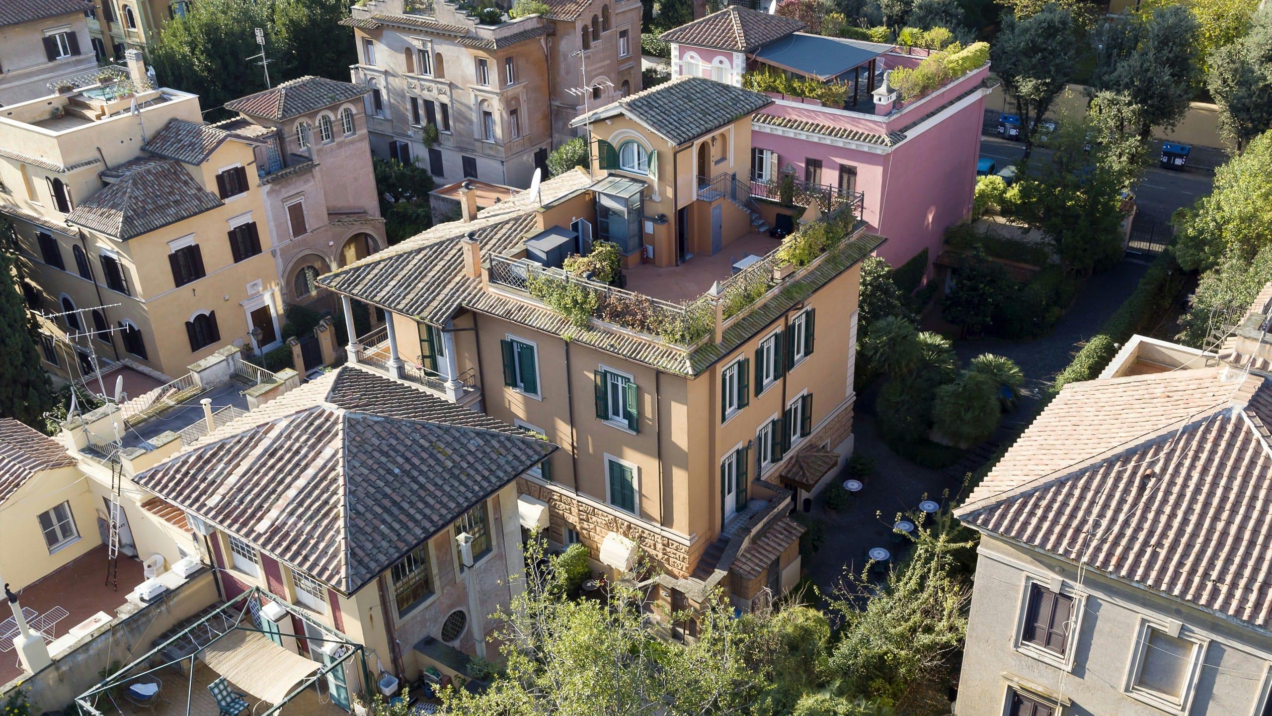 Район Авентино в Риме
