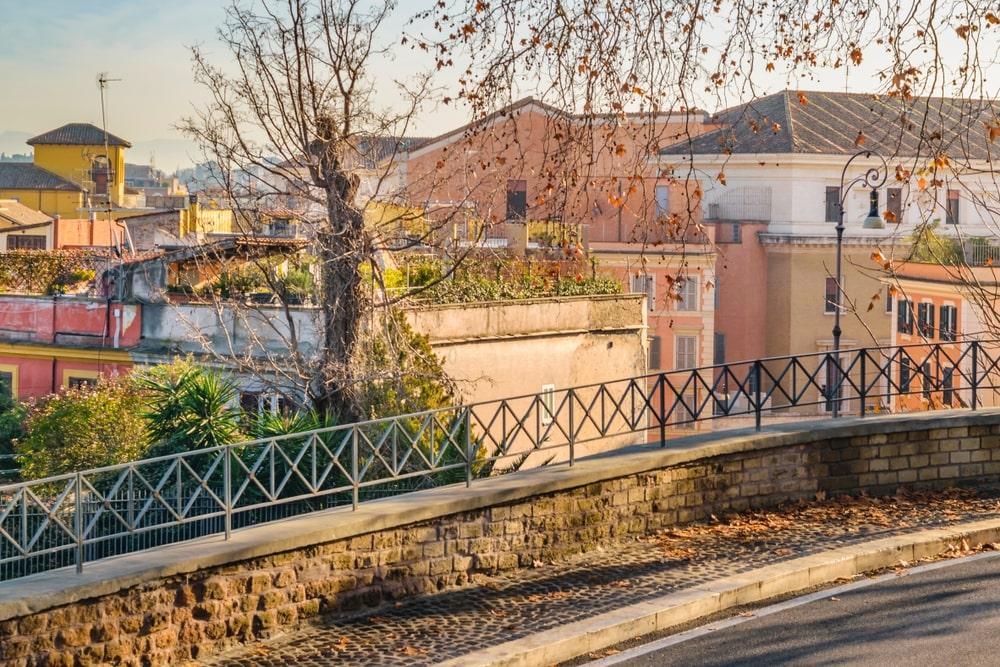 Район Джаниколо в Риме