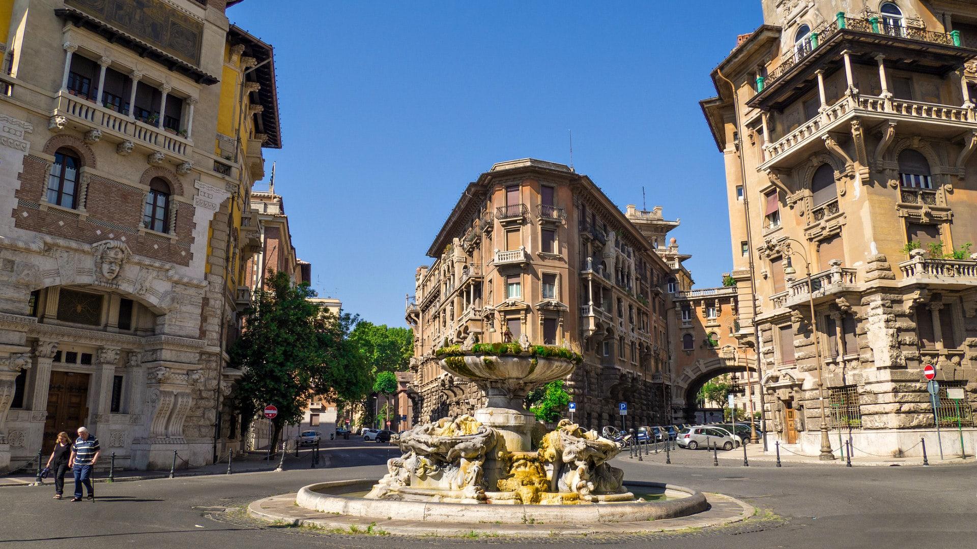 Район Париоли в Риме