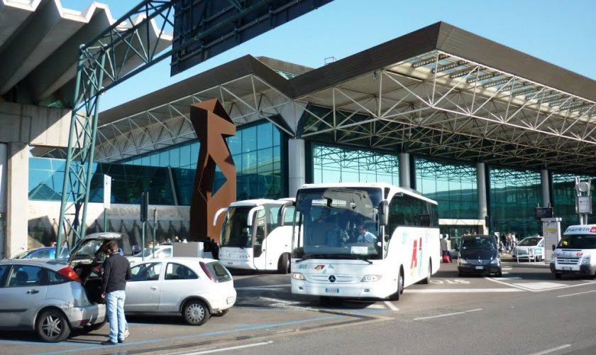 Как добраться из аэропорта Фьюмичино в Рим