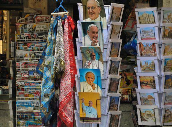 Сувениры из Ватикана