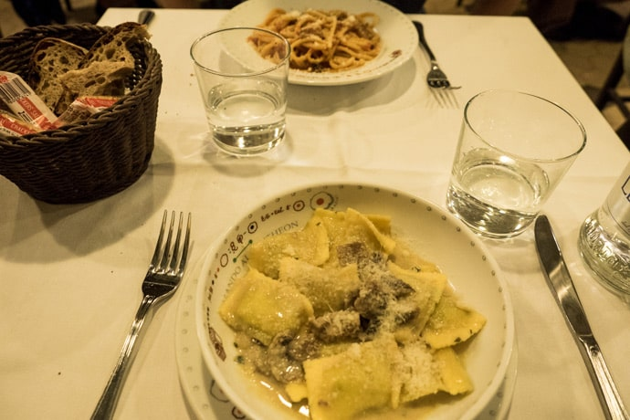 Ресторан Armando al Pantheon в Риме