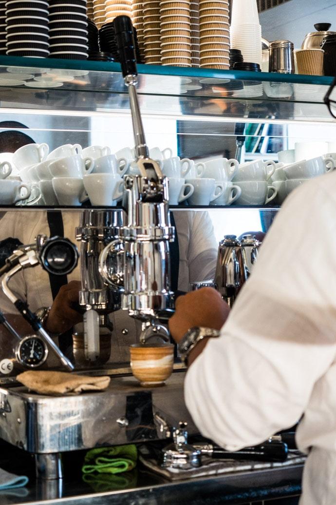 Кафе Roscioli Caffe в Риме