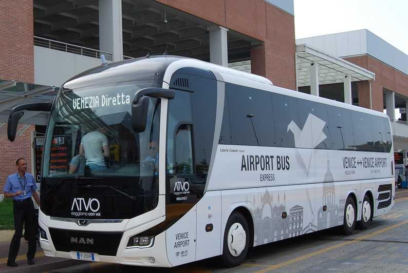 Автобус из аэропорта Венеции