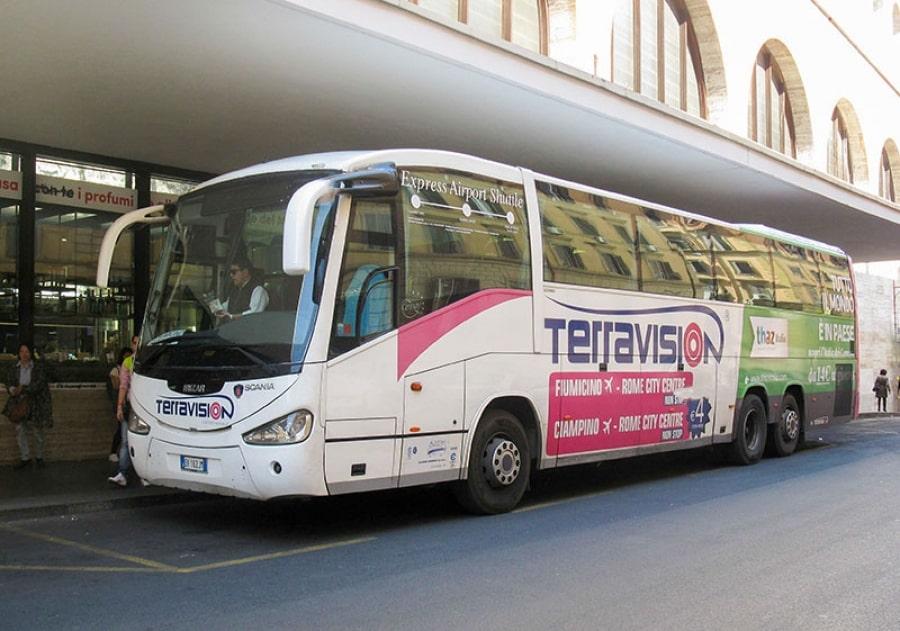 Автобус Terravision (Терравижн)