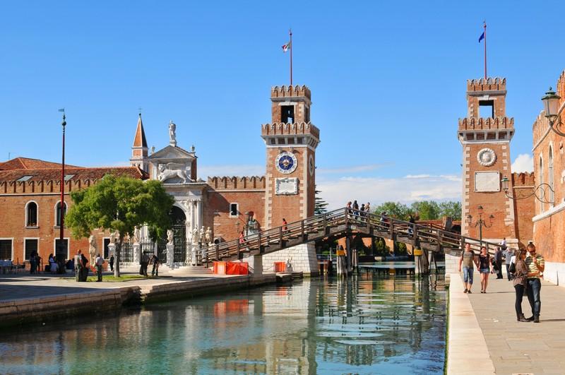 предприятие Арсенал в Венеции