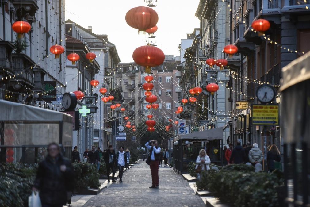 Китайский квартал в Милане