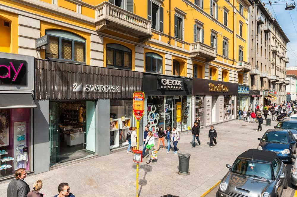 Улица Corso Buenos Aires в Милане