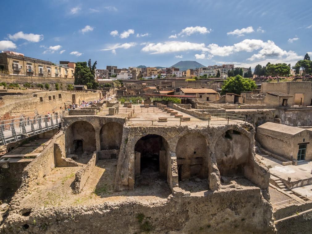 город Геркуланум в Неаполе