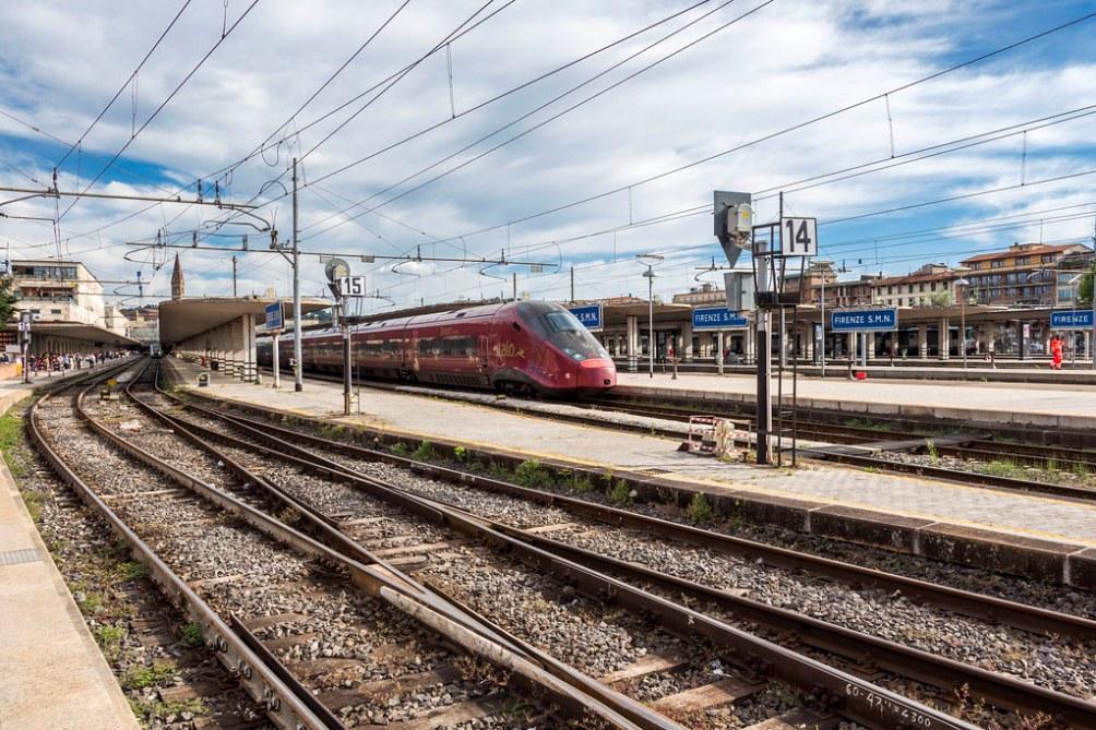 станция Santa Maria Novella во Флоренции