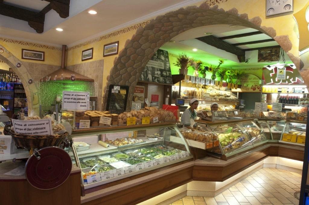 Пекарня Forno Roscioli Pietro в районе Термини