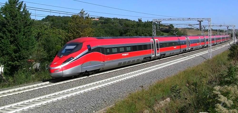 Поездка на скором поезде «Frecciarossa»