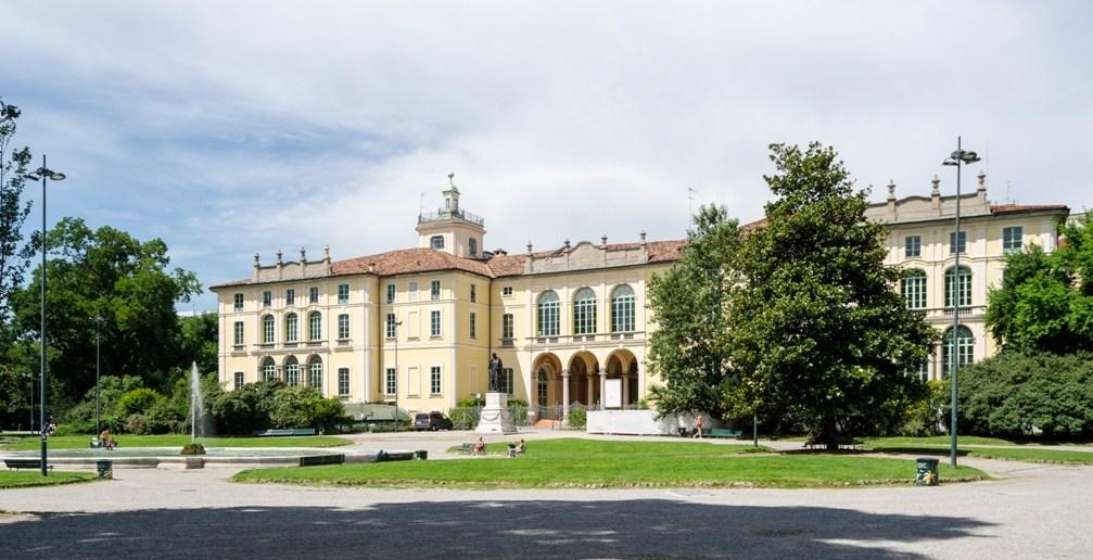 городской парк Giardini Pubblici в Милане