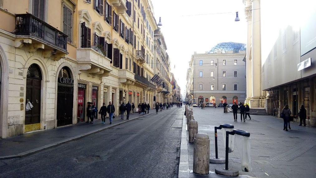 Виа-дель-Корсо в Риме