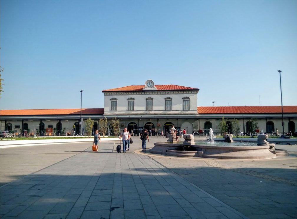 железнодорожный вокзал Бергамо