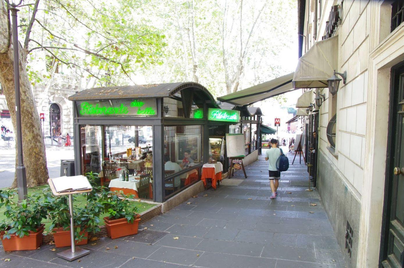 Ресторан «Ciao Bella» в Риме