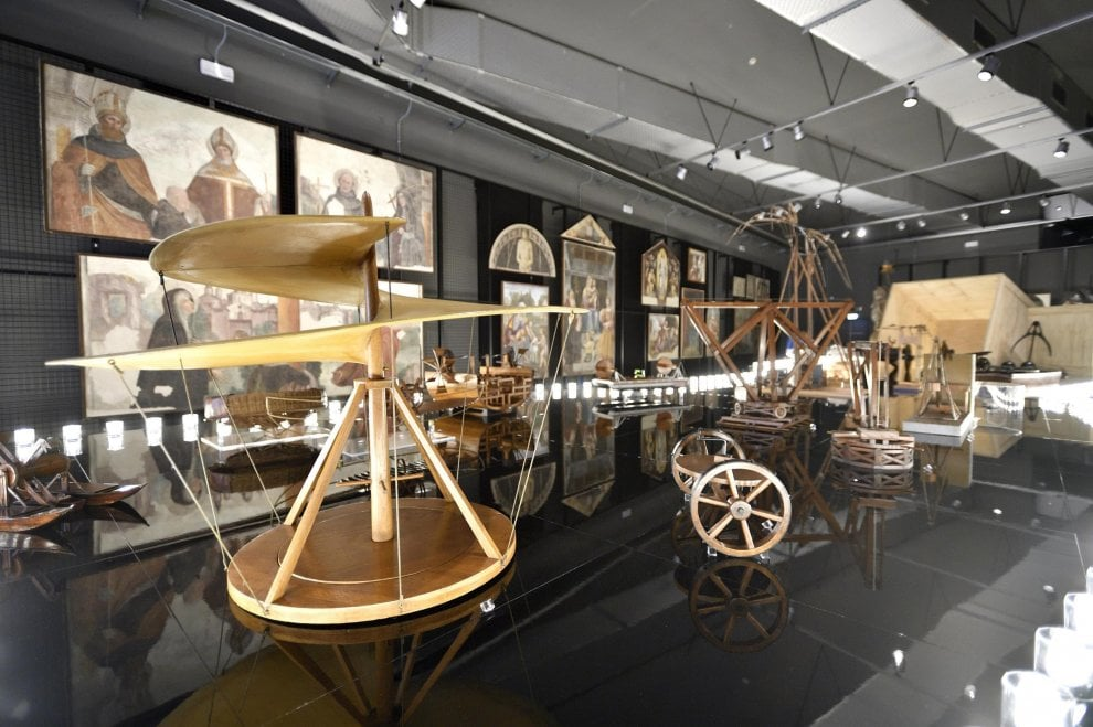 Музей науки и технологии Леонардо да Винчи в Милане