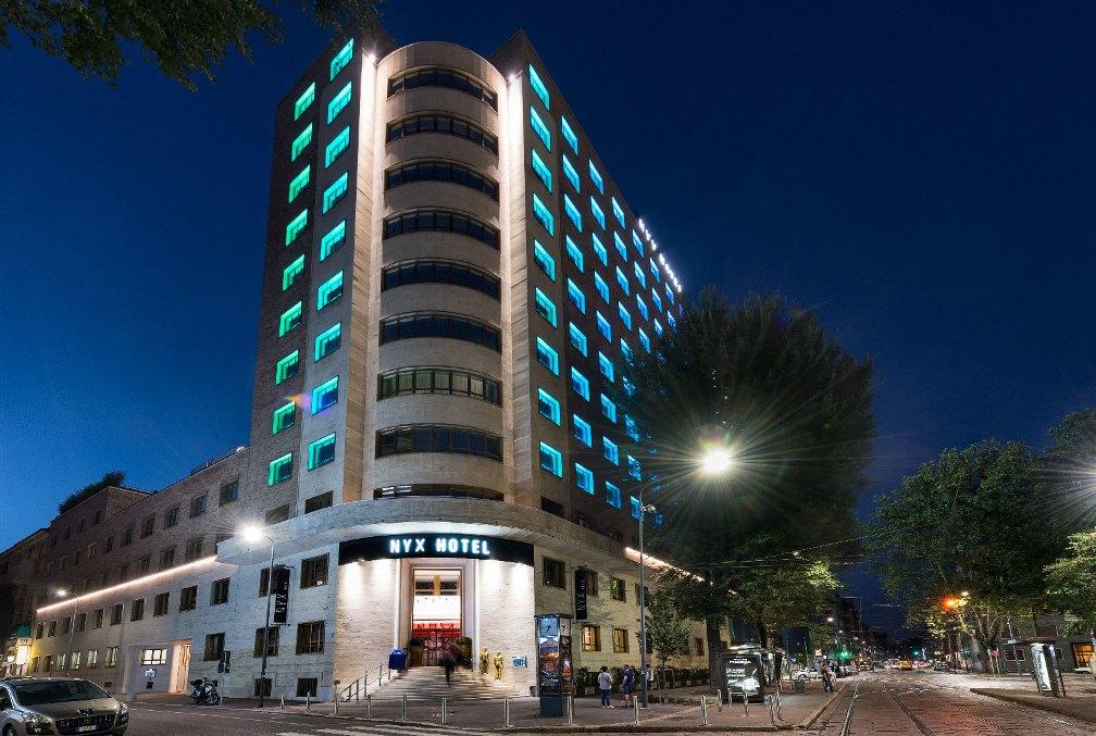 отель Nyx Milan в Милане