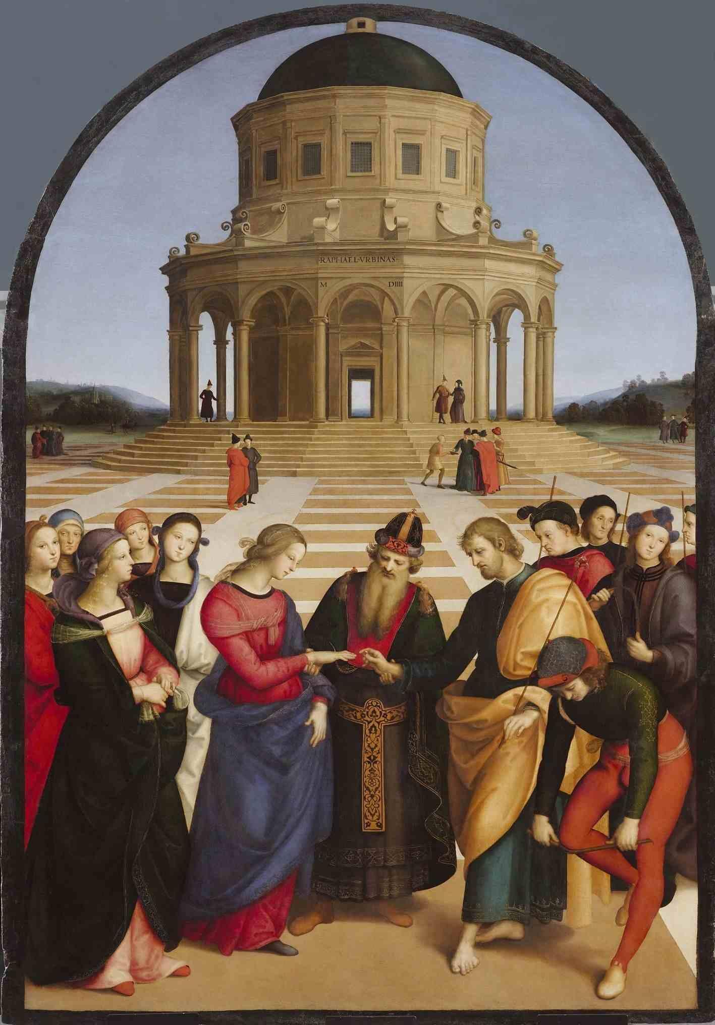 Картина «Обручение Девы Марии» в Милане