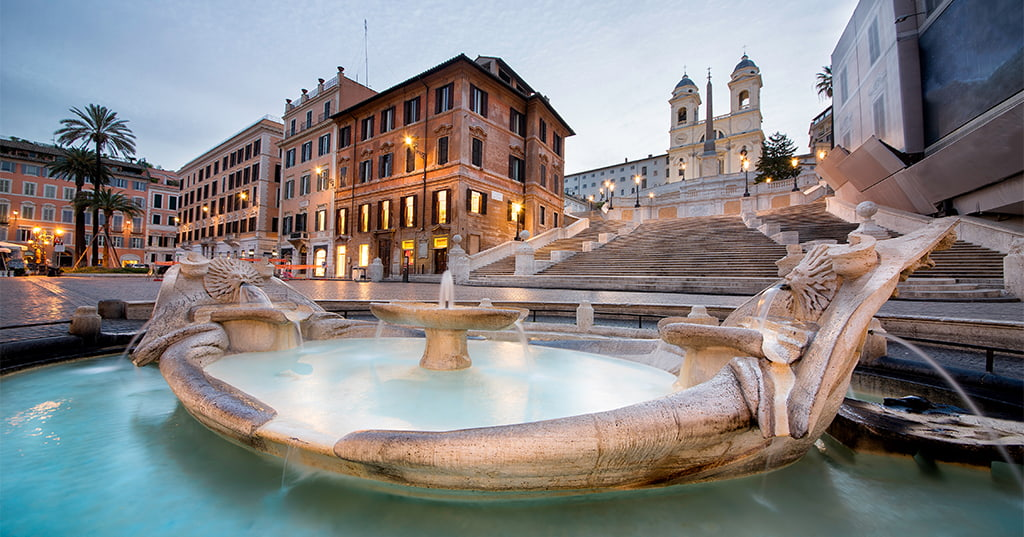Piazza Spagna в Риме