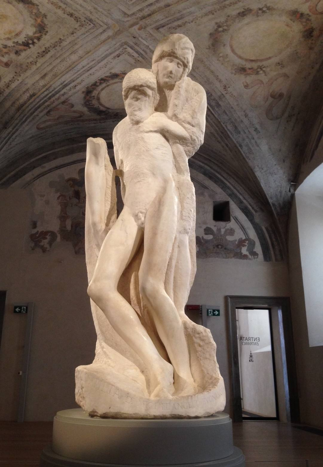 скульптура «Пьета Ронданини»