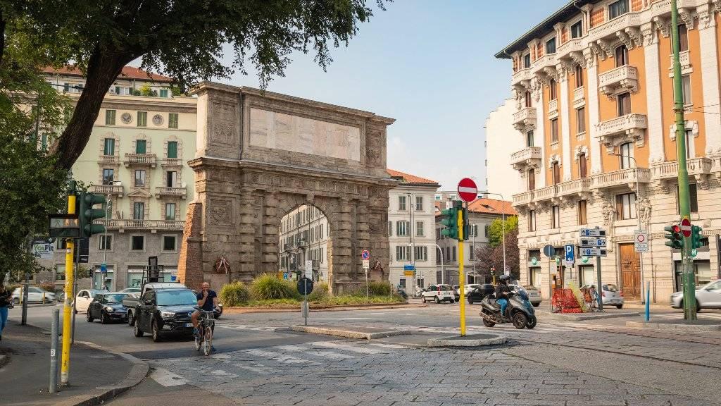 Район Порта Романа в Милане