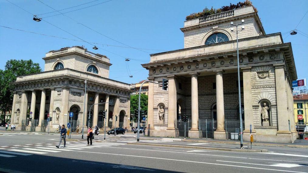 Район Порта Венеция в Милане