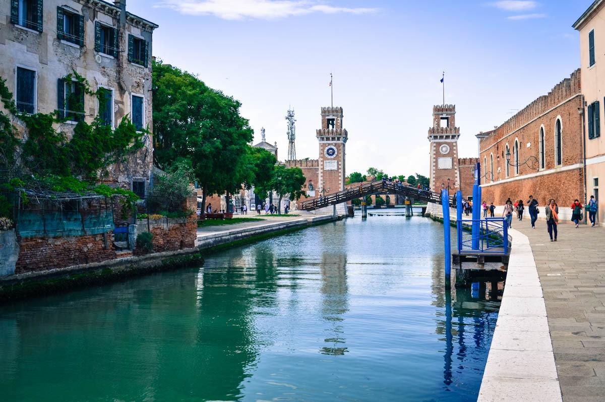 Район Кастелло в Венеции