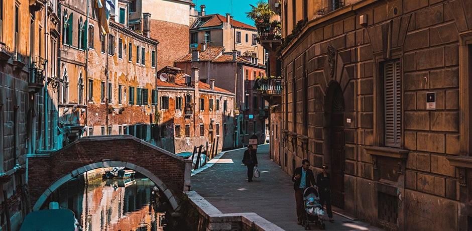 Район Санта-Кроче в Венеции