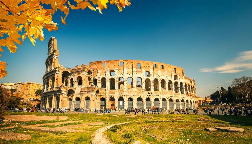 Рим осенью