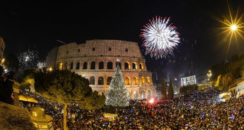 Рим в Новый год